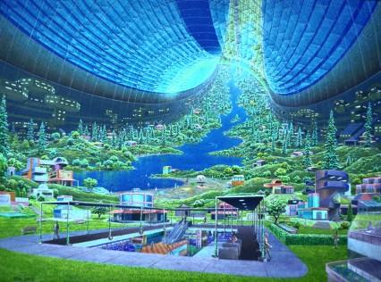 Raumstation Atlantis: Stadt im Himmel